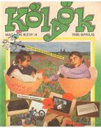 Kölyök magazin 1988. április - Berkes Péter