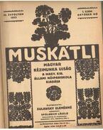 Muskátli 1933. (teljes) - Zulawsky Elemérné