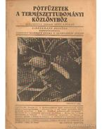 Pótfüzetek a Természettudományi Közlönyhöz 1942. január-március 74. kötet 1. szám 225.füzet - Gombocz Endre, Szabó-Patay József