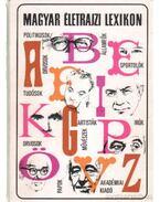 Magyar életrajzi lexikon 1978-1991 A-Z - Kenyeres Ágnes