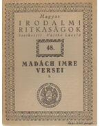 Madách Imre versei I - Vajthó László