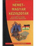 Német-magyar kéziszótár - Bodrogi Márta