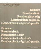 Rendezzünk sugdosó partit - Pálinkás György