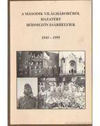 A második világháborúból hazatért Hódmezővásárhelyiek 1945-1995 - Lusztig Imre, Katona Lajos