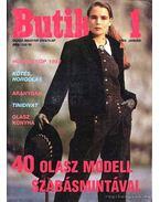 Butik 1. 1992. január - Moldován Katalin