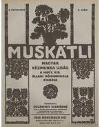 Muskátli 1932. november 2. szám - Zulawsky Elemérné