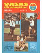 Vasas téli műsorfüzet 1981/III. - Ferenczy István