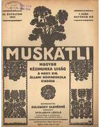 Muskátli 1933. október 1. szám - Zulawsky Elemérné