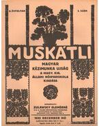 Muskátli 1932. december 3. szám - Zulawsky Elemérné