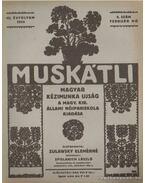 Muskátli 1934. február 5. szám - Zulawsky Elemérné