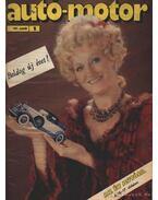 Autó-Motor 1985. (hiányos) - Pongrácz György