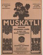 Muskátli 1934. július 10. szám - Zulawsky Elemérné