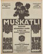 Muskátli 1934. június 9. szám - Zulawsky Elemérné