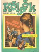 Kölyök magazin 1988. június - Berkes Péter