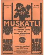 Muskátli 1933. július 10. szám - Zulawsky Elemérné