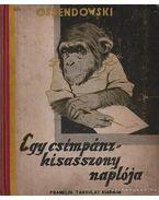 Egy csimpánzkisasszony naplója - Ossendowski