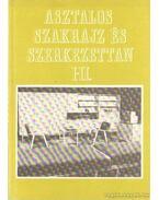 Asztalos szakrajz és szerkezettan I-II. (egy kötetben) - Takács József, Kiss Szilárd