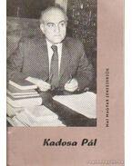 Kadosa Pál - Bónis Ferenc
