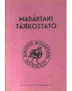 Madártani tájékoztató 1984. január-március - Haraszthy László