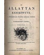 Az állattan kézikönyve - Paszlavszky József