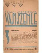 Vasi szemle 1934. - Pável Ágoston
