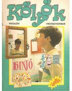 Kölyök magazin 1987. november - Berkes Péter