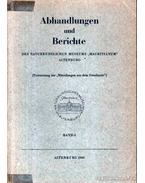 Abhandlungen und Berichte des Naturkundlichen Museums - Több német szerző