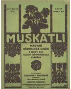 Muskátli 1933. április 7. szám (hiányos) - Zulawsky Elemérné