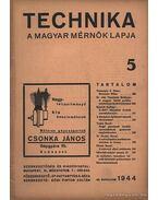 Technika 1944 25. évfolyam 5. szám - Dr. Pattantyús Á. Géza