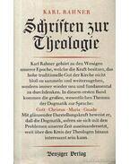 Schriften zur Theologie I-VIII. kötet (A szentírás teológiája) - Karl Rahner