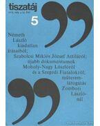 Tiszatáj 1978. május 32. évf. 5. - Vörös László