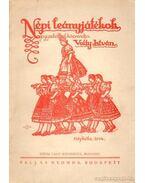 Népi leányjátékok - Volly István