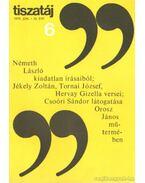 Tiszatáj 1979. június 33. évf. 6. - Vörös László
