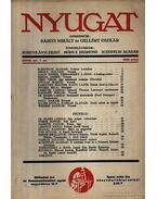 Nyugat 1935 XXVIII. évf. 7.szám - Babits Mihály, Gellért Oszkár