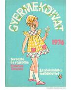 Gyermekdivat 1976. - Lukács Zsuzsa