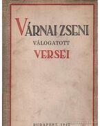 Várnai Zseni válogatott versei 1914-1942 - Várnai Zseni