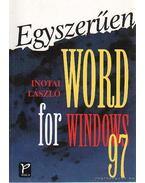Egyszerűen Word for Windows 97 - Inotai László