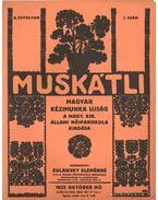 Muskátli 1932. október 1. szám - Zulawsky Elemérné