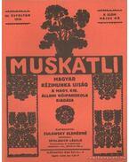 Muskátli 1934. május 8. szám - Zulawsky Elemérné