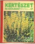 Kertészet és szőlészet 1990. 39. évfolyam 27-52. szám - Gévay János
