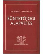 Büntetőjogi alapvetés - Kis Norbert, Papp László