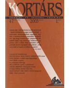 Kortárs 2003/1. január - Kis Pintér Imre