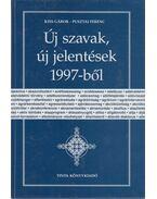 Új szavak, új jelentések 1997-ből - Kiss Gábor, Pusztai Ferenc