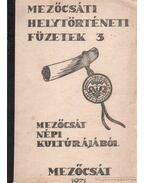 Mezőcsát népi kultúrájából - Kiss László, Pataki Sándor