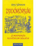 Zsidókórság - Kiss Sándor