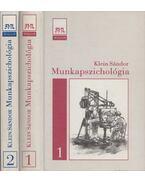 Munkapszichológia I-II. - Klein Sándor