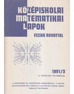Középiskolai matematikai lapok 1991/2. február - Hermann Péter, Lugosi Erzsébet (szerkesztő), Gajzágó Éva