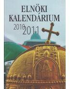 Elnöki kalendárium 2010-2011 - Kő András