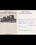 Magyar siratófal (dedikált) - Kőbányai János