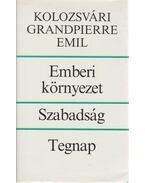 Emberi környezet - Szabadság - Tegnap - Kolozsvári Grandpierre Emil